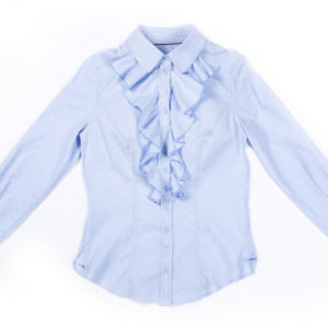 Ladies Front Frill Shirt