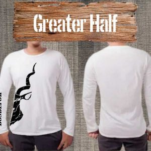 Bosbefok Greater Kudu Half - Long Sleeve - Mens