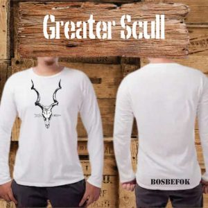 Bosbefok Greater Scull - Long Sleeve - Mens