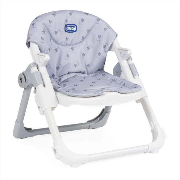 Chicco Chairy Bunny Grey Booster Seat